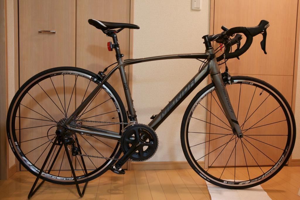 MERIDA(メリダ)のロードバイクSCULTURA700を購入。走るのがとても楽しい!