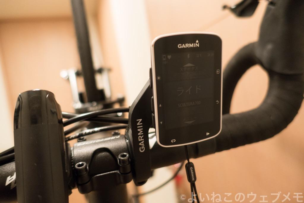 【ガーミン】Edge 520J!心拍やケイデンス、地図など表示可能な高性能サイコンのインプレ【Garmin】