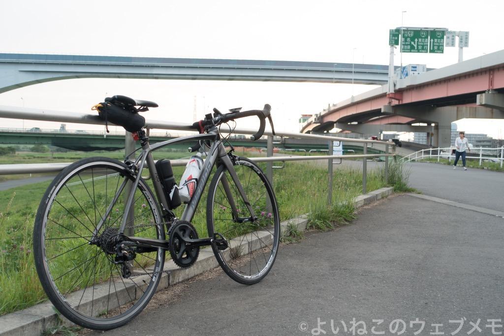 荒川CRから榎本牧場と高半のダブルコンボ!初心者にオススメ100km超ライド!